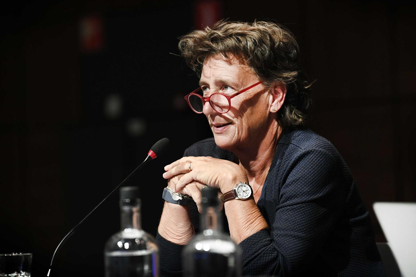 Voorzitter Anneke van Zanen-Nieberg.