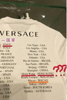 Ce T-shirt Versace a fâché Pékin