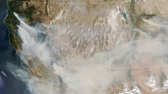 Rook van bosbranden VS bereikt ook Europa
