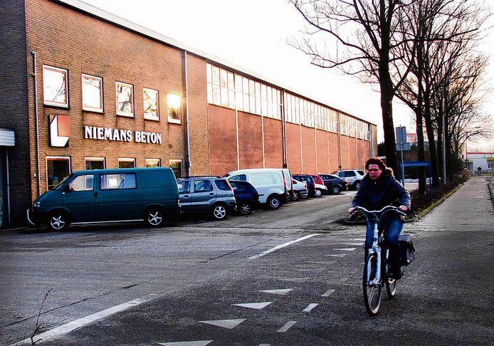Het voormalig terrein van Niemans Beton in Vianen.