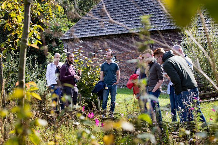 Tijdens de lunchpauze op 'mini-safari' op de High Tech Campus in Eindhoven.