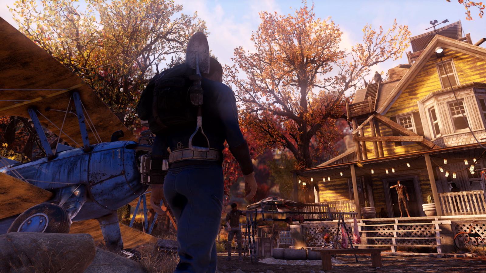 De 'Fallout 76'-spelwereld was ook voor de komst van 'Wastelanders' al top.