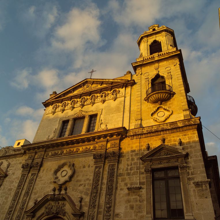 Een kerk in Havana, de hoofdstad van Cuba. Beeld Thinkstock