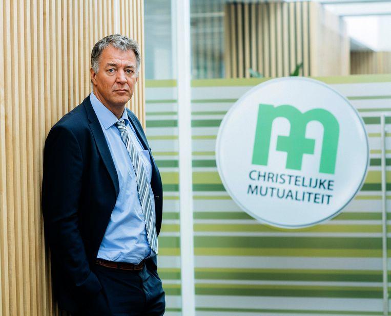 Luc Van Gorp, Voorzitter van de CM , Christelijke Mutualiteiten Beeld Photo News