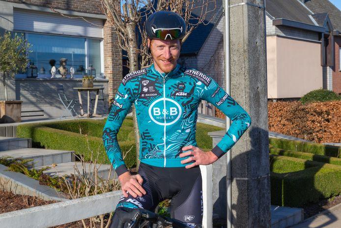 Frederik Backaert, woensdag net voor de verkenning van de Omloop, verwacht wel iets van zijn eerste koers.