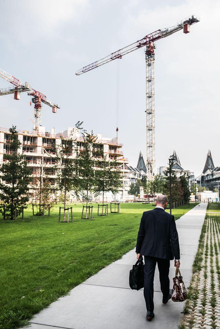 Het huidige stadsbestuur zet in op nieuwbouwprojecten.