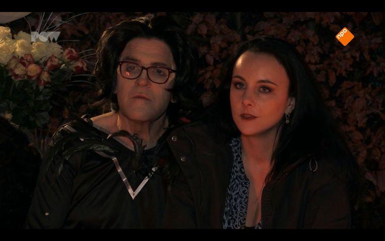 Sjef (65) en Denise (28) in Verboden Liefde. Beeld Powned