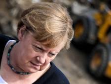"""Choquée par les dégâts """"surréalistes"""", Merkel appelle à accélérer la lutte contre le changement climatique"""