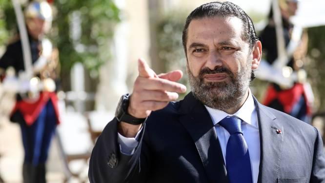 Libanese premier plooit voor aanhoudend protest en kondigt ontslag aan