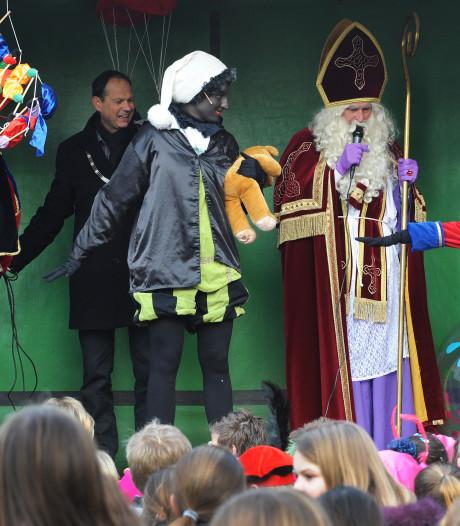 Sinterklaas meert ook in Oud Gastel aan