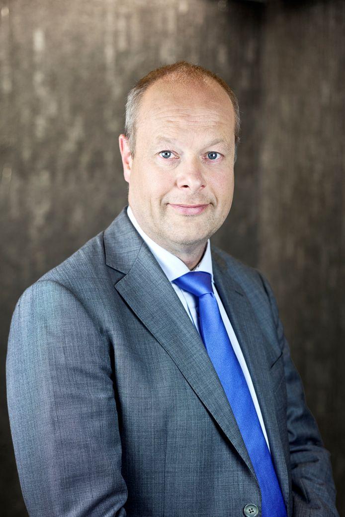 Gedeputeerde Jan Jacob van Dijk.