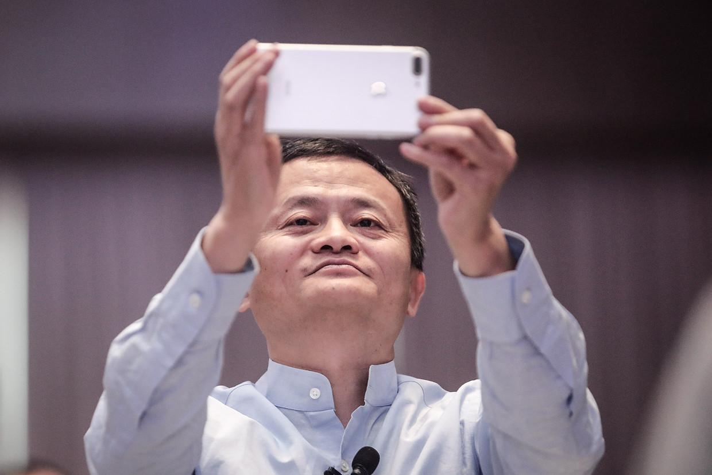 Misschien was de Chinese ondernemer Jack Ma wel de grootste 'vijand' van Beijing. Zijn internetbedrijven AliBaba en Ant Group zijn keihard aangepakt. Beeld Getty Images