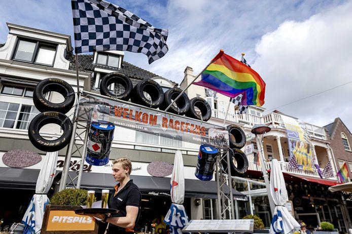 Luchroom Rabbel in Zandvoort is omgetoverd tot een Formule 1-museum. De Dutch Grand Prix staat bijna voor de deur.