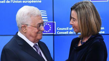 Abbas dringt bij Europese ministers aan op snelle erkenning Palestijnse staat, zij houden de boot af