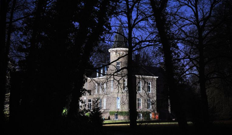 Het Carpentier kasteel in Wingene. Beeld anp