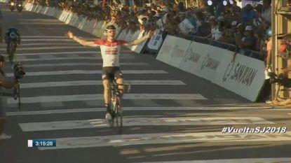 Jelle Wallays (Lotto Soudal) wint zesde etappe in Ronde van San Juan