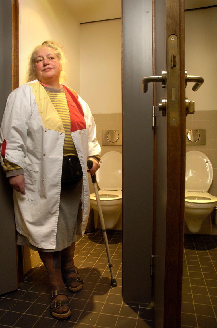 Toiletdame Beeld Marco Mertens