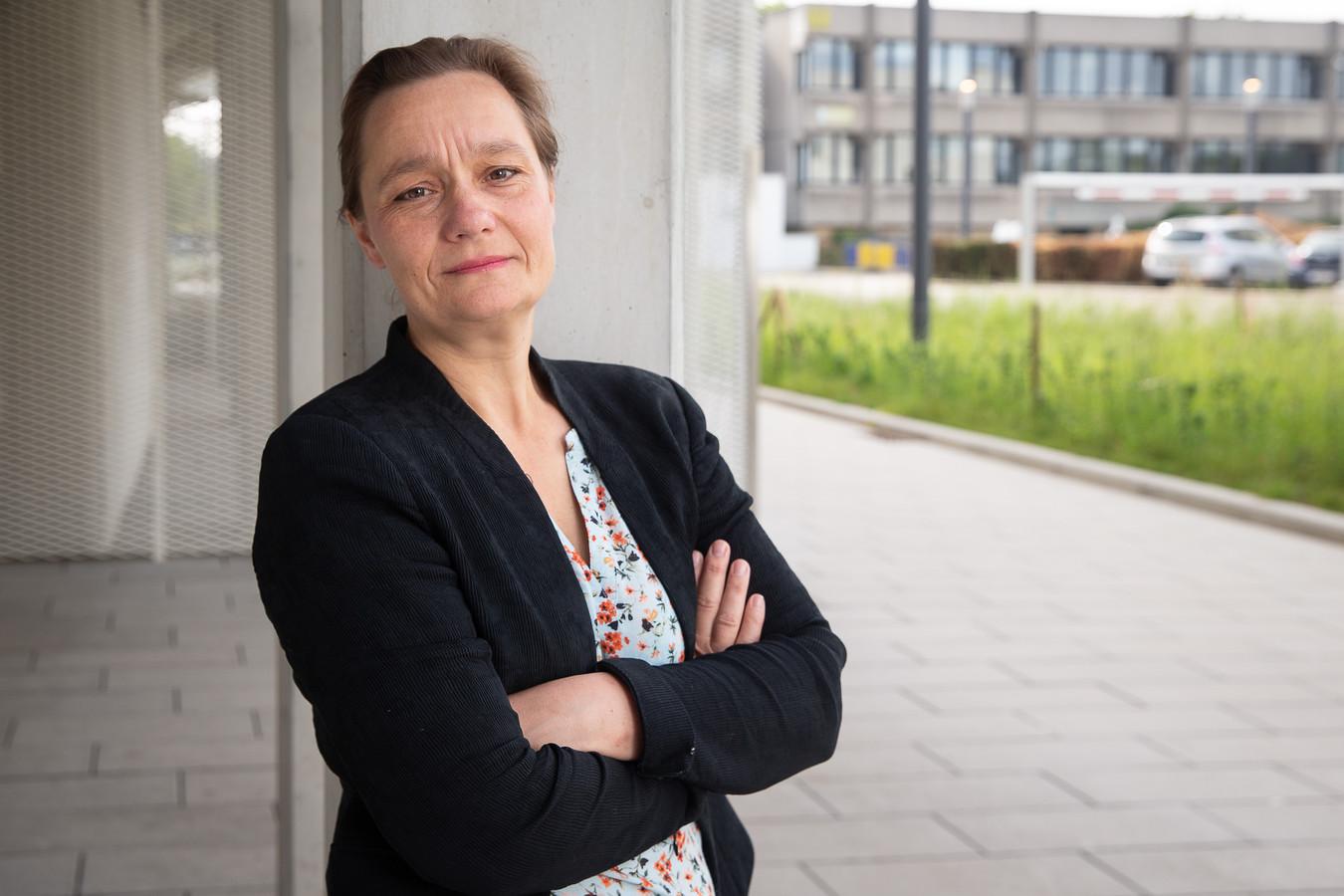 Professor Erika Vlieghe, hoofd van de GEES.
