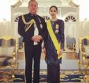 De sultan met zijn dochter.