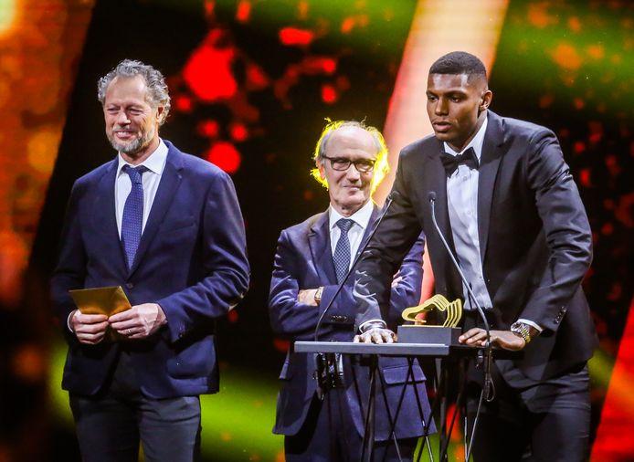 Wilfried Van Moer was in 2019 te gast op de Gouden Schoen. Hij reikte er samen met Michel Preud'homme de Trofee voor Belofte van het Jaar uit aan Club-spits Wesley Moraes.
