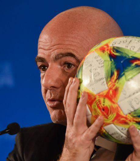 FIFA staat achter Infantino: 'Iedereen heeft nu eenmaal vrienden en vijanden'