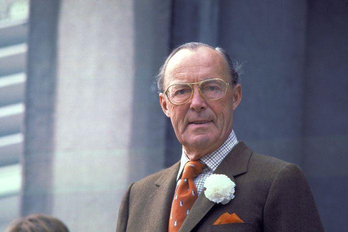 De Nederlandse prins Bernard.
