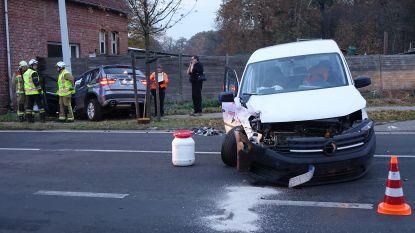 Drie gewonden bij ongeval tussen twee wagens