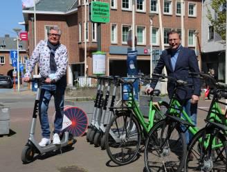 Naast deelfietsen heeft Schoten nu ook elektrische deelsteps