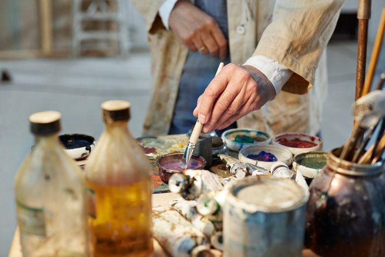 'Septologie' gaat over Asle, een schilder die zijn vrouw Ales heeft verloren. Beeld Getty Images