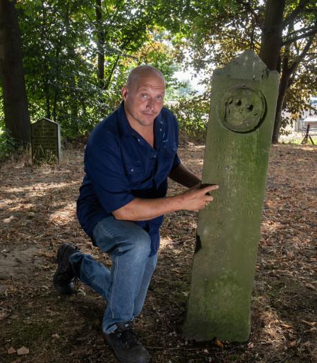 Bijzondere grafsteen maakt Grafhorster begraafplaats uniek