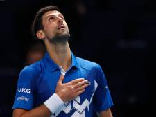 Djokovic maîtrise facilement Schwartzman pour son entrée en lice au Masters de Londres
