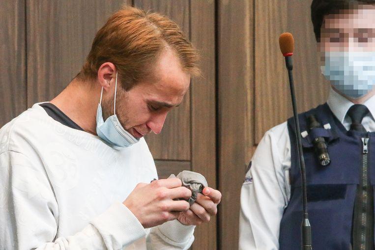 Alexandru Caliniucbij het aanhoren van het vonnis. Beeld Photo News
