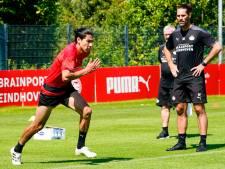 Gutiérrez en Thomas terug bij PSV, dat voor 1.200 toeschouwers traint in het Philips Stadion