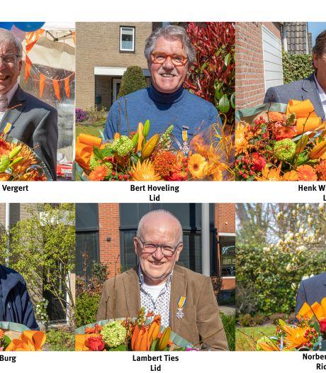 Geen vrouwelijke gedecoreerden, wel één ridder en vijf koninklijke vrijwilligers in Oldenzaal