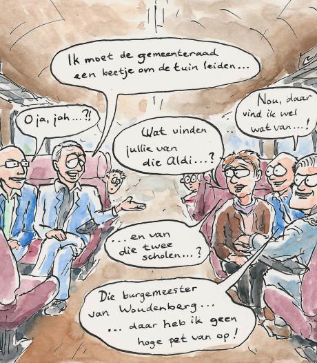 Loslippig college Heuvelrug krijgt  na treinrel training van professor