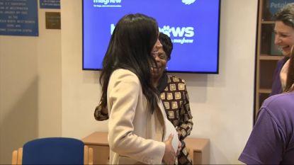 """VIDEO. Vrouw noemt Meghan Markle """"dikke dame"""", maar ze kan er hartelijk om lachen"""
