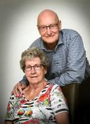 Piet en Helma Bruijninckx in 2016, toen 58 jaar getrouwd.