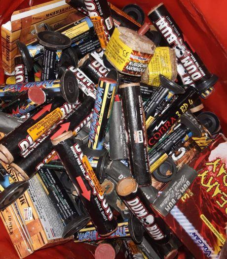 Werkstraf en voorwaardelijke celstraf voor opslaan van 300 kilo illegaal vuurwerk in Hengelose woonwijk