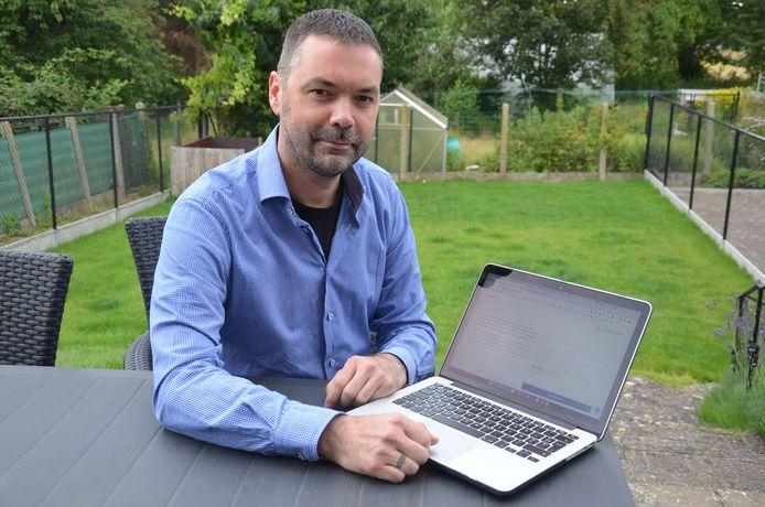 Dieter Janssens uit Welle ontwikkelde de 'Bubbel App'.