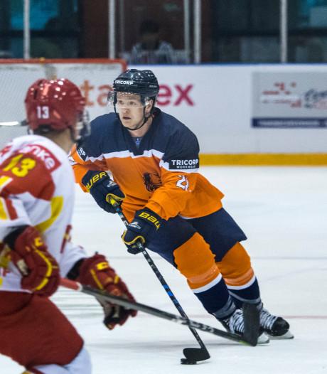 Nederlands ijshockeyteam naar volgende ronde olympische kwalificatie