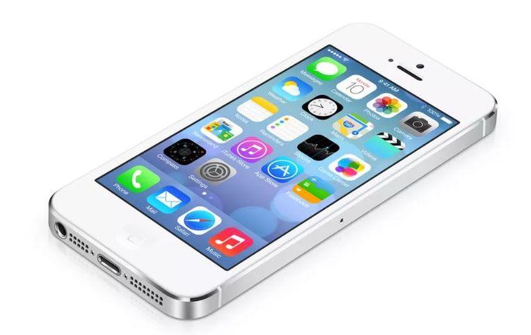 Een iPhone 5s Beeld Apple