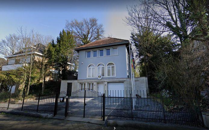 De ambassade van de Centraal-Afrikaanse Republiek in Brussel.