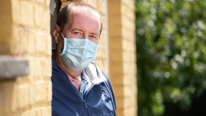 """Johan Browaeys (57) vecht al vier maanden tegen corona: """"Als je de dood voor ogen hebt gezien, begrijp je niet waarom mensen geen mondmasker dragen"""""""