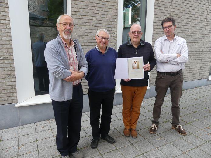 Archiefbeeld: Rik De Cooman, Luc Voet, Johan Jaspaert en Willy Nachtergaele.
