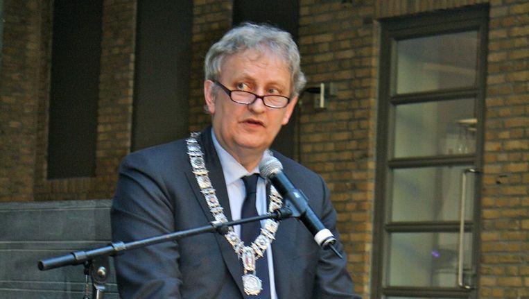 Burgemeester Eberhard van der Laan schrijft vandaagn aan de Raad dat 1 van de weigerambtenaren bij zijn aanstelling liet weten wel bereid zou zijn homo's te trouwen. Foto Charlotte van Drimmelen Beeld