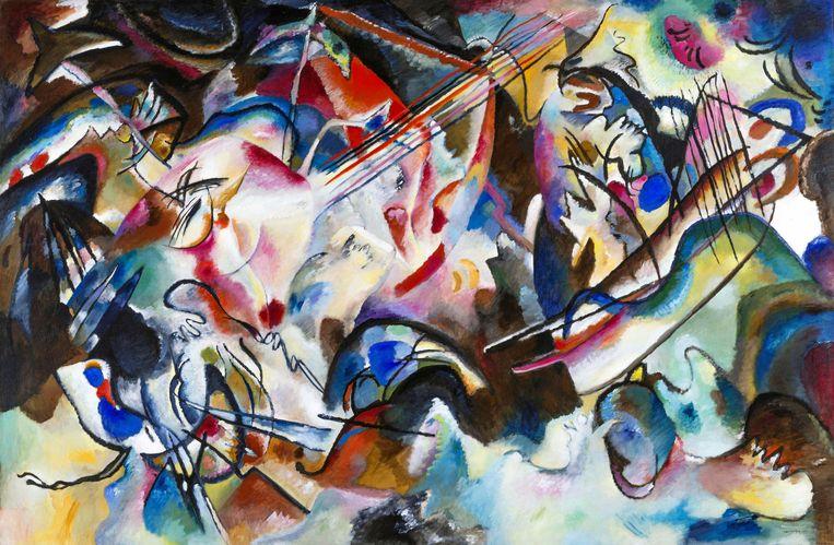 2G8GBW8 Kandinsky painting.