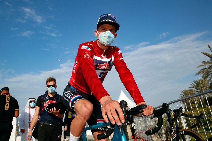 Vainqueur de la première étape, Mathieu van der Poel a ensuite dû quitter l'UAE Tour, comme toute son équipe.
