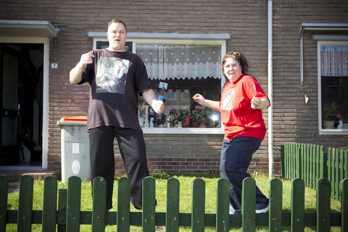Volkszanger Rinus met zijn Debora
