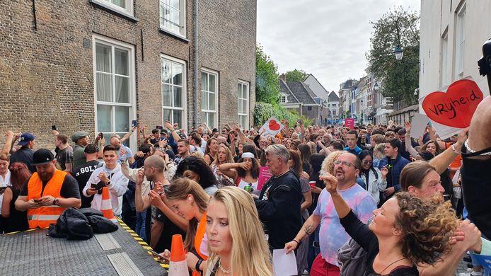 Coronaprotest Breda.