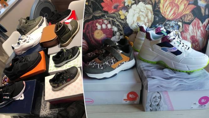 """PROMOJAGERS SUPERTIP. Grote stockverkoop in oude Brantanowinkels: """"Drie paar schoenen voor 20 euro in plaats van 95 euro"""""""